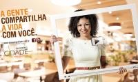 Campanha Compartilhe - Shopping Cidade - 2012 - Ana Carolina Alvim - Cartaz de Mall