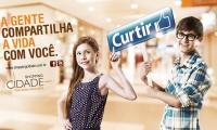 Campanha Compartilhe - Shopping Cidade - 2012 - Lara e Gustavo - Backlights